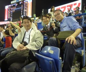 野球観戦2016